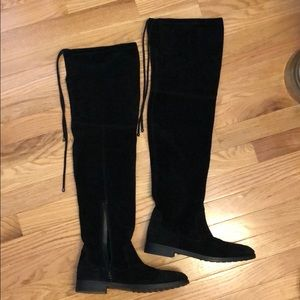 Over-the-knee Black Boots